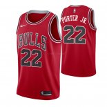 Maillot Chicago Bulls Nike NO.22 Otto Porter Jr. Rouge Icon Pas Cher