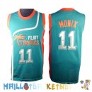 Maillot NBA Film Basket-Ball Flint Hill NO.11 Monix Bleu Pas Cher