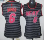 Maillot NBA Femme Groove Fashion NO.6 LeBron James Pas Cher