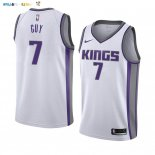 Maillot NBA Nike Sacramento Kings NO.7 Kyle Guy Blanc Association 2019-20