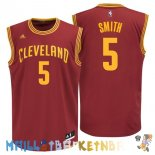 Maillot NBA Cleveland Cavaliers NO.5 J.R.Smith Rouge Pas Cher