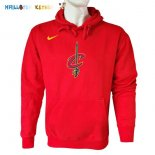 Hoodies NBA Cleveland Cavaliers Nike Rouge Pas Cher