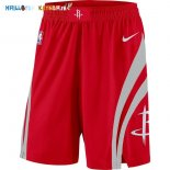 Pantalon NBA Houston Rockets Nike Rouge Pas Cher