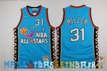Maillot NBA 1996 All Star NO.31 Andre Miller Bleu Pas Cher