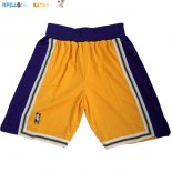 Pantalon NBA Los Angeles Lakers Jaune Pas Cher