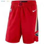 Pantalon NBA New Orleans Pelicans Nike Rouge Statement 2018 Pas Cher
