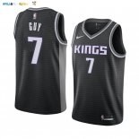 Maillot NBA Nike Sacramento Kings NO.7 Kyle Guy Noir Statement 2019-20