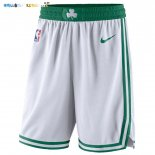 Pantalon NBA Boston Celtics Nike Blanc Pas Cher