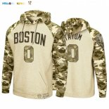 Hoodies NBA Boston Celtics NO.0 Jayson Tatum Camuflaje
