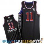 Maillot NBA 2015 All Star NO.11 Klay Thompson Noir Pas Cher