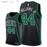 Maillot NBA Boston Celtics NO.44 Robert Williams III Noir Statement 2018-2019 Pas Cher
