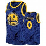 Maillot Golden State Warriors Nike NO.0 Demarcus Cousins Marine Pas Cher