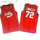 Maillot NBA Film Basket-Ball Bad Boy NO.72 Rouge Pas Cher