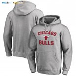Hoodies NBA Chicago Bulls Gris