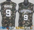 Maillot NBA 2013 Camouflage NO.9 Parker Pas Cher
