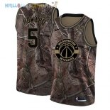 Maillot Washington Wizards NO.5 Juwan Howard Camo NBA Swingman Collection Realtree 2018 Pas Cher