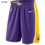 Pantalon NBA Los Angeles Lakers Nike Pourpre Pas Cher
