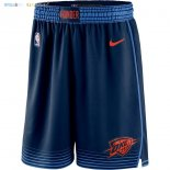 Pantalon NBA Oklahoma City Thunder Nike Marine Statement 2018 Pas Cher