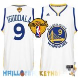 Maillot NBA Golden State Warriors Finales NO.9 Iguodala Blanc Pas Cher