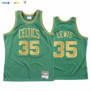 Maillot NBA CNY Throwback Boston Celtics NO.35 Reggie Lewis Vert 2020