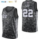 Maillot NBA San Antonio Spurs NO.22 Rudy Gay Nike Camouflage Ville 2017-2018 Pas Cher