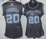 Maillot NBA Femme 2013 Static Fashion NO.20 Ginóbili Pas Cher