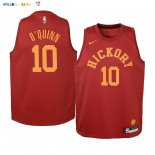 Maillot NBA Enfant Indiana Pacers NO.10 Kyle O'Quinn Nike Retro Bordeaux