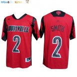Maillot NCAA Louisville NO.2 Smith Rouge Pas Cher