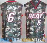 Maillot NBA 2013 Camouflage NO.6 James Pas Cher