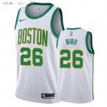 Maillot NBA Boston Celtics NO.26 Jabari Bird Nike Blanc Ville 2018-2019 Pas Cher