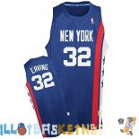 Maillot NBA Brooklyn Nets ABA NO.32 Erving Bleu Pas Cher