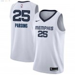 Maillot NBA Memphis Grizzlies NO.25 Chandler Parsons Blanc Association 2018-2019 Pas Cher