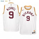 Maillot NBA Enfant Indiana Pacers NO.9 T.J. McConnell Jaune Statement 2019-20