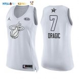 Maillot NBA Femme 2018 All Star NO.7 Goran Dragic Blanc Pas Cher