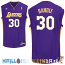 Maillot NBA L.A.Lakers NO.30 Julius Randle Purpura Pas Cher
