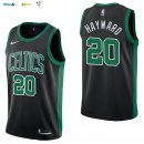 Maillot NBA Boston Celtics NO.20 Gordon Hayward Noir Statement 2017-2018 Pas Cher