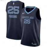 Maillot NBA Memphis Grizzlies NO.25 Chandler Parsons Marine Icon 2018-2019 Pas Cher