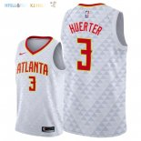 Maillot NBA Atlanta Hawks NO.3 Kevin Huerter Blanc Association 2018-2019 Pas Cher