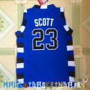 Maillot NBA Pelicula Basket-Ball Tree Hill NO.23 Scott Bleu Pas Cher