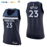 Maillot NBA Femme Minnesota Timberwolves NO.23 Jimmy Butler Marine Icon Pas Cher