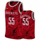 Maillot Houston Rockets Nike NO.55 Isaiah Hartenstein Rouge Pas Cher