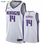 Maillot NBA Nike Sacramento Kings NO.14 Dewayne Dedmon Blanc Association 2019-20