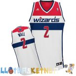 Maillot NBA Washington Wizards NO.2 John Wall Blanc Pas Cher