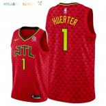 Maillot NBA Atlanta Hawks NO.1 Justin Anderson Rouge Statement 2018 Pas Cher