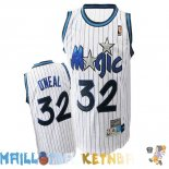 Maillot NBA Orlando Magic NO.32 Shaquille O'Neal Blanc Pas Cher