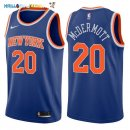 Maillot NBA New York Knicks NO.20 Doug McDermott Bleu Icon 2017-2018 Pas Cher