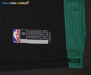 Maillot NBA Boston Celtics NO.7 Jaylen Brown Noir 2017-2018 Pas Cher