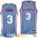 Maillot NBA L.A.Clippers ABA NO.3 Paul Gris Pas Cher