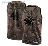 Maillot Washington Wizards NO.41 Wes Unseld Camo NBA Swingman Collection Realtree 2018 Pas Cher