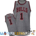 Maillot NBA Chicago Bulls 2013 Moda Estatica NO.1 Rose Pas Cher